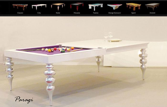 бильярдные столы Италия